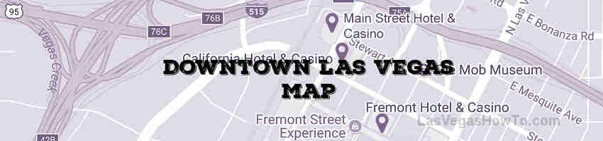 Downtown Las Vegas Map