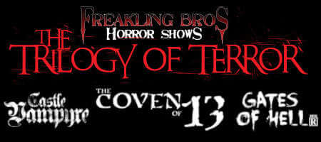 Freakling Brothers Trilogy of Terror