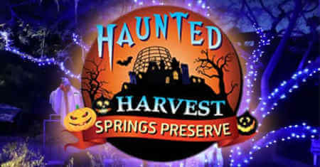 Haunted Harvest at Springs Preserve