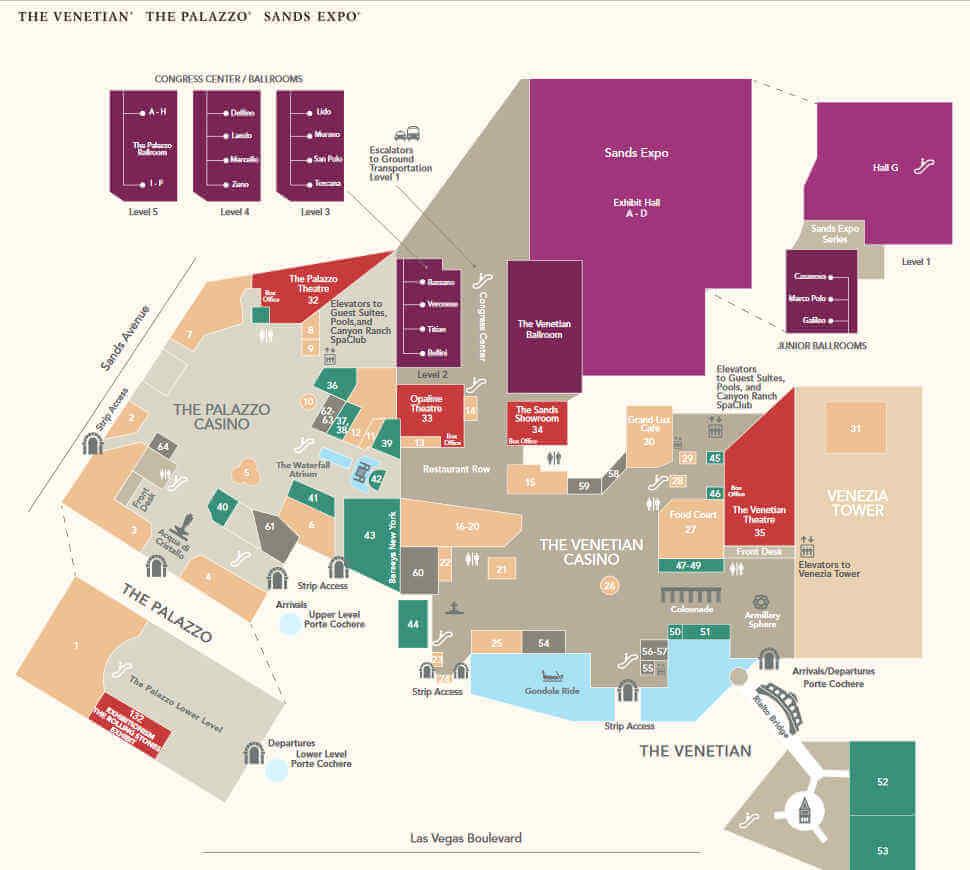 Las Vegas Convention Calendar 2022.Sands Expo Convention Center Las Vegas Lasvegashowto Com