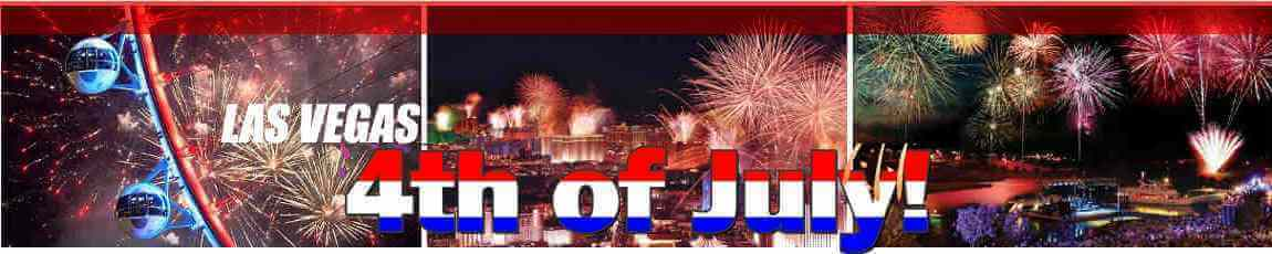 Fourth of July in Las Vegas